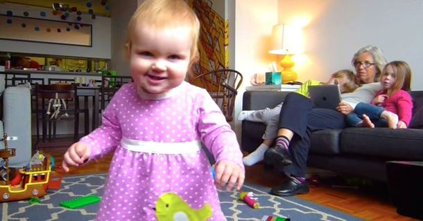 Father Creates Captivating Time-Lapse Video Of Daughter Learning To Walk